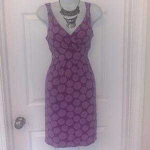 💕Flirty Merona v-neck front & back dress
